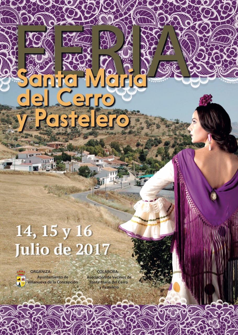 Feria Santa María del Cerro y Pastelero 2017 (14,15 y 16 de julio)
