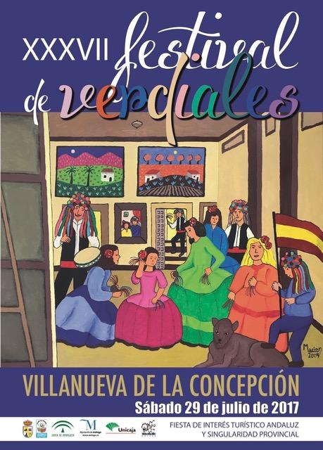 Festival de Verdiales en Villanueva de la Concepción (29 julio)