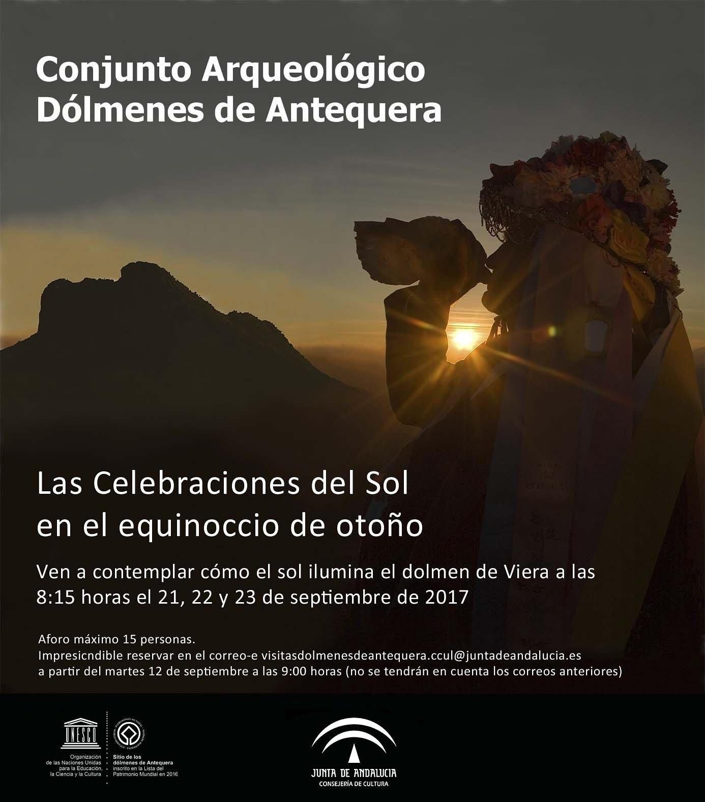 Equinoccio de Otoño en Dólmenes de Antequera (21,22y23.sep.2017)