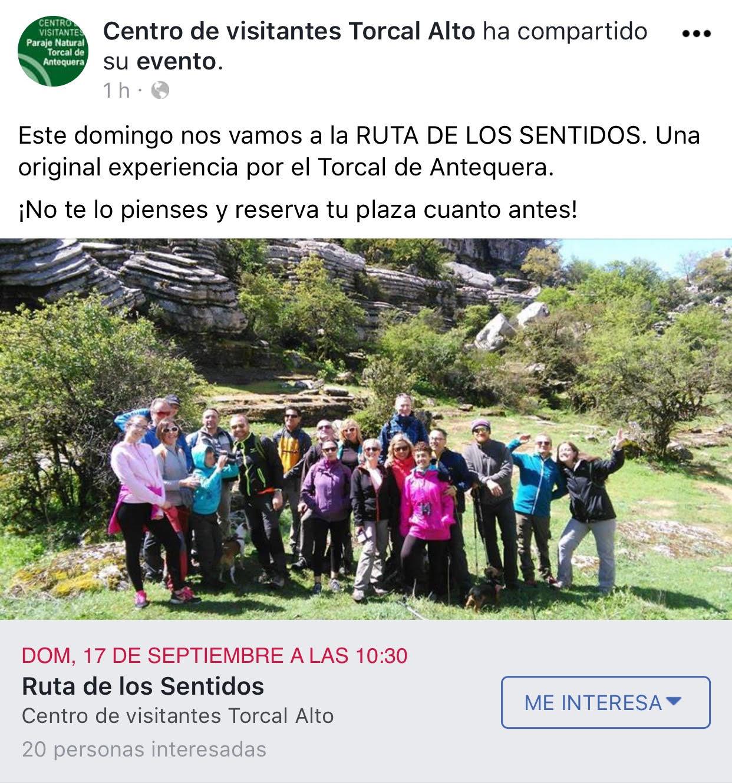 Ruta de los Sentidos en el Torcal de Antequera (17.sep.2017)