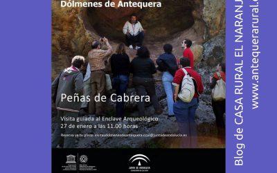 Visita guiada Peñas de Cabrera (27.ene.2018)