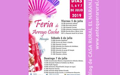 Feria de Arroyo Coche 2019 (5 a 7 de julio)